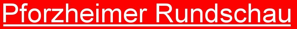 Pforzheimer Rundschau - unabhängige Online - Zeitung aus Pforzheim (Logo)