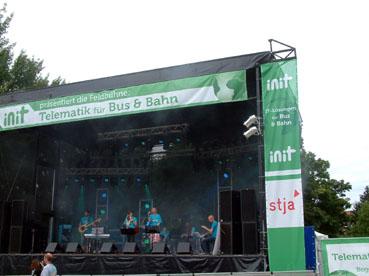 Bild: Jedermanns Bühne auf dem Fest