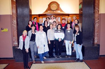 Bild: Teilnehmerinnen an der Klausurtagung im EMMA