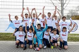 Bild: Das Team des 1. CFR  Pforzheim