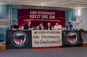 Bild: Demo-Teilnehmer gegen die falsche Traditionspflege in Bad Reichenhall
