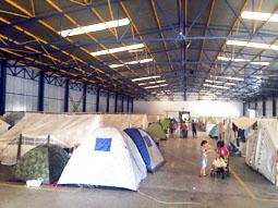 Bild: Militärlager in  Griechenland (Foto pr.)