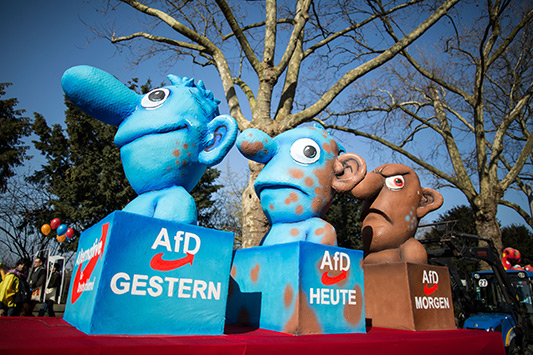 Bild: AfD auch im Ziel von Spott..