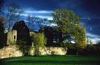 Bild: Schlossgarten des Schloß Neuenbürg (Foto: privat)