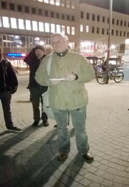 Bild: IgR_Sprecher Christof Grosse betonte bei seiner Rede auch lokals Aspekte....