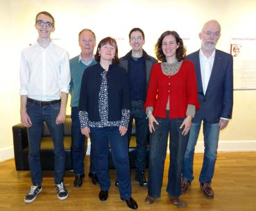Bild: Die WiP_Kandidaten/innen nach der Nominierung  im Kulturhaus Osterfeld