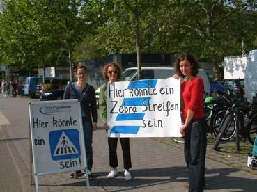 Bild: WiP fordert mehr Verkehrssicherheit auch am Tunplatz in Pforzheim