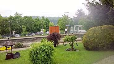 Bild: Bahnhof Eutingen: ein wichtiger Knotenpunkt nach Stuttgart und Pforzheim