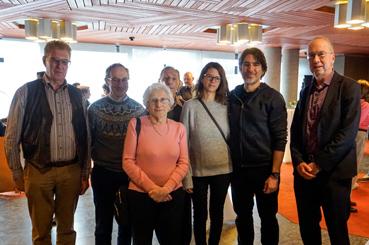 Bild: Empfang der Delegation für die Stolpersteinverlegung im Neuen Rathaus
