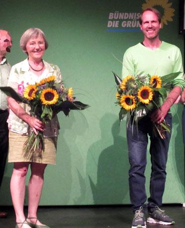 Bild: v.l. Stefanie Seeman, MdL, Bernd Kaufmann