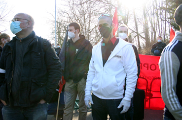 Bild: Aktiv gegen Neonazis..