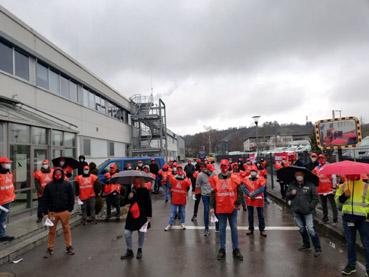 Bild: IG Metall Kundgebung in Vaihingen (Foto: IG Metall Pforzheim)
