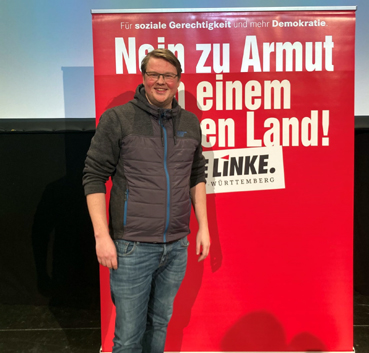 Bild: Michael Brandt, MdB, die Linke Karlsruhe (Foto: Linke KA)
