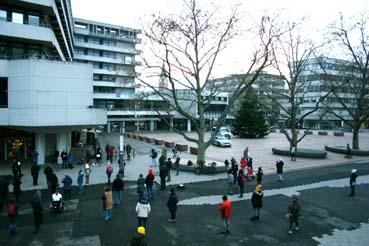 Bild: Dauerzankapfel: Coronademos in der Pforzheimer Innenstadt