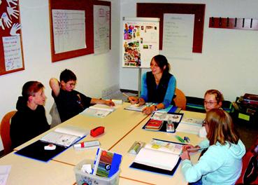 Bild: Richtige Asthamschulung, hier mit Kindern, ist wichtig f�r den gesundheitlichen Erfolg..