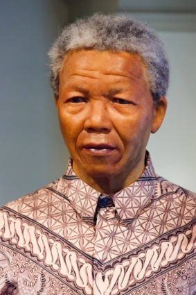 Bild: World Wide Hero; Nelson Mandela (Foto. Public Domain Dedication)