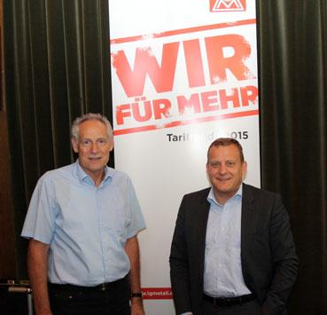 Bild: Foto (privat) v.l.: .Martin Kunzmann, Roman Zitzelsberger