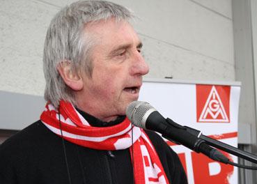 Bild: Wolf-Deitrich Glaser, stv. Betriebsratsvorsitzender Mahle (Foto. Privat)