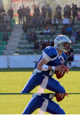 Bild: Quarterback Chris Treister