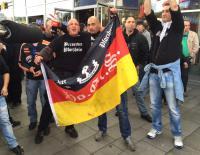 Bild: Waren Berserker aus Pforzheim auch bei dem Angriff auf die  Wahlhelfer in Karlsruhe dabei?