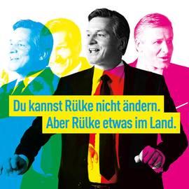 Bild: Wahlplakat der FDP - kann man Rülke wirklich nicht ändern?