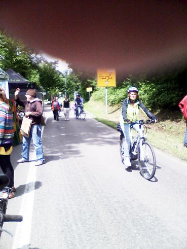 Bild: Radfahren im idyllischen Würmtal ohne PKW-Verkehr