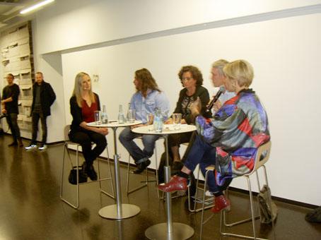 Bild: v.l.: Dr. Ana Kugli. Januss Czech, Christiane Quincke, Frank Augustin, Stephanie Weber