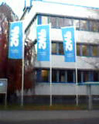 Bild: SWP-Zentrale am Sandweg..